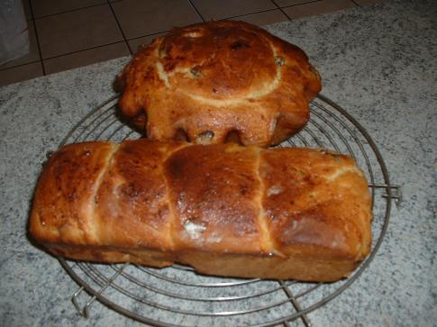 brioche pâte en machine et cuisson four