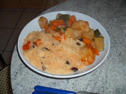 couscous poulet mouton en cocotte minute