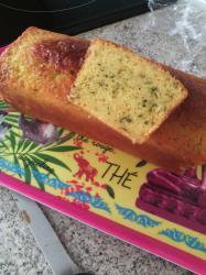 Cake citron a la menthe 001